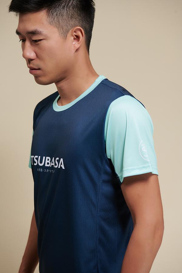 ASA木藍湖水綠<br>透氣機能運動衫<br>男款 1